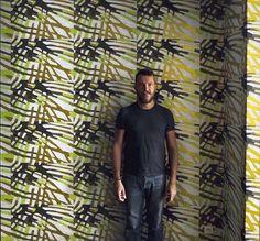 François Mascarello, peintre et designer L'artiste sur murs
