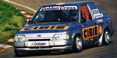 O Ford Escort de Mattheis e Júdice campeão de 1993. (Foto: Reprodução) Ford Escort, Cars And Motorcycles, Classic Cars, Engineering, Racing, Memories, Random, Board, Vehicles