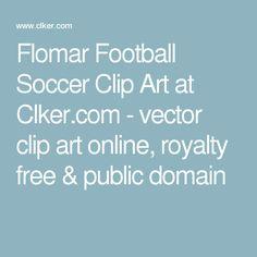 Flomar Football Soccer Clip Art at Clker.com - vector clip art online, royalty free & public domain