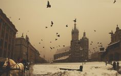 I lived here over a summer.  Studied, partied, even fell in love.  Beautiful city.  Krakow, Poland in Winter