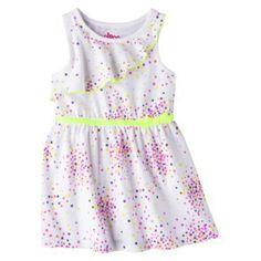 Circo® Infant Toddler Girls' Sun Dress - Fresh White