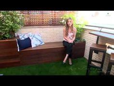 Paisajismo en una pequeña terraza - YouTube