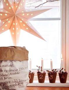 Deco navideña simple #Decoracion #Navidad #Christmas #HomeDecor