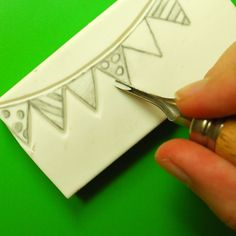 How to carve stamps