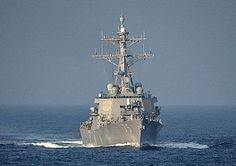 The guided-missile destroyer USS Donald Cook is underway in the Mediterranean Sea, Dec. 5, 2014. Donald Cook is conducting naval operations in the U.S. 6th Fleet area of responsibility in support of U.S. national security interests in Europe. U.S. Navy photo by Petty Officer 2nd Class John Herman