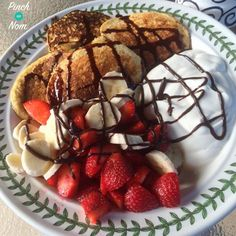 Syn Free Oat Pancakes Slimming World Slimming World Deserts, Slimming World Breakfast, Slimming World Recipes Syn Free, Slimming World Syns, Slimming Eats, Breakfast And Brunch, Breakfast Recipes, Syn Free Cake, Kimchi