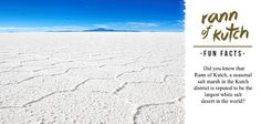 Rann of Kutch is reputed to be the largest White Salt desert in the world. #India #Gujarat