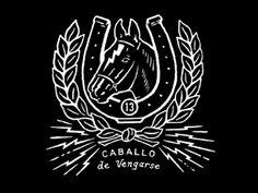 Caballo T-Shirt by Curtis Jinkins