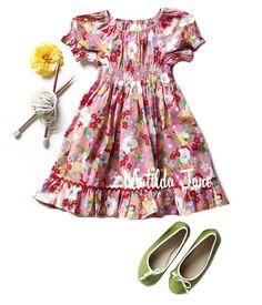 Fairgrounds Betsy Dress ($48-50) 12mths - 8 ~It's A Wonderful Parade