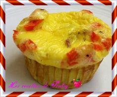 omelette façon cupcakesOmelette façon cupcake pour l'apéro  Ingrédients  des œufs (3 œufs pour 15 cl de crème) de la crème fraîche (3 œufs pour 15 cl de crème) sel/poivre/muscade/curry des ingrédients pour garnir vos mini-quiches:lardons, fromage de chèvre frais, dés de saumon cru ou fumé, dés de jambon fumé, tomates cerises coupées en 2, épinards et/ou poireaux pré-cuits, fromage râpé,….  Préparation ;   Il vous faut des petits ramequins facilement démoulables (les plus faciles sont ceux…