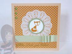 Stampin' Up! - Babykarte - Fox & Friends - Viel-schichtig - rosamaedchen.blogspot.de