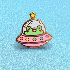 Cute Frogs, Cool Pins, Easter Crafts For Kids, Pin And Patches, Pin Image, Craft Stick Crafts, Cute Jewelry, Lapel Pins, Pin Collection
