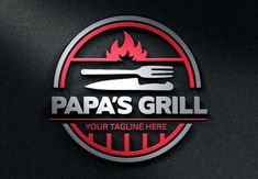 The grill Logos