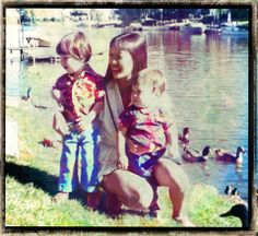 SUE WONG WITH YOUNG SONS JOSH AND EZRA