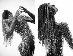 Scrap Metal Sculpture Ecstasy