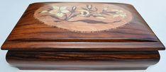Caixa da Daniella - Marchetaria [Marquetry] (wood work - Box)