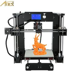2017 High Quality A6/Auto Leveling A8/A8 3D Printer Easy Assemble 3D printer Kit DIY With Free Filament