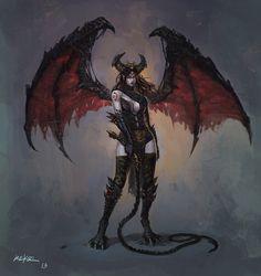 Daughter of the Devil by KEKSE0719.deviantart.com on @deviantART