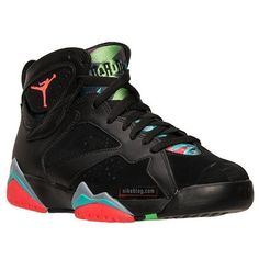 timeless design bc3b6 4d61f Air Jordan 7 Marvin the Martian - Nikeblog.com ❤ liked on Polyvore  featuring shoes