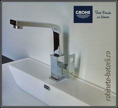 Baterie lavoar inalta Grohe Eurocube Sink, Home Decor, Faucet, Glee, Sink Tops, Vessel Sink, Decoration Home, Room Decor, Vanity Basin