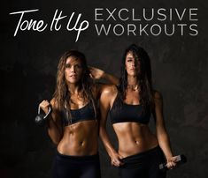 Tone It Up Challenge ~ Get in the BEST shape of your LIFE!