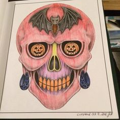 This is not the kind of thing I normally colour, but I wanted to see how I would do out of my comfort zone and do something before Halloween. Colouring Pages, Coloring, Comfort Zone, Something To Do, Halloween, Quote Coloring Pages, Coloring Pages, Pages To Color, Halloween Labels