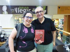 Con Dolores Bueno en la presentación de Vuelve el listo que todo lo sabe en La Casa del libro de Barcelona