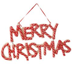 """3516486 - 8.5"""" PEPPERMINT """"MERRY CHRISTMAS"""" small signs to use on 2015 Rudolph and Gingerbread wreaths!"""