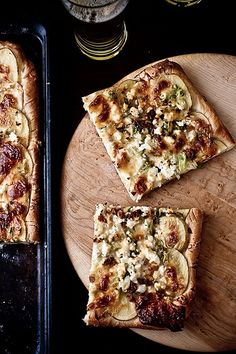 Potato - Leek Pizza