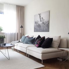 Grey sectional grey and ikea sofa on pinterest for Canape ikea modulable