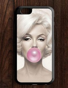 Pink Bubble Gum Marilyn Monroe iPhone 6 | 6S Case