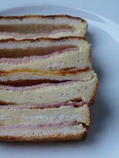 Petite merveille : Cake Croque-Monsieur