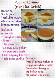 A vanilla milky agar puding with caramel from Malaysia. An easy peasy to taste instead making flan Eggless Recipes, My Recipes, Cookie Recipes, Snack Recipes, Indonesian Desserts, Asian Desserts, Brownie Desserts, Pudding Desserts, Sambal Recipe