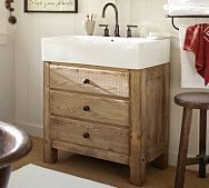 Bathroom Vanity Pottery Barn this is not the pottery barn benchwright vanity. and it does not