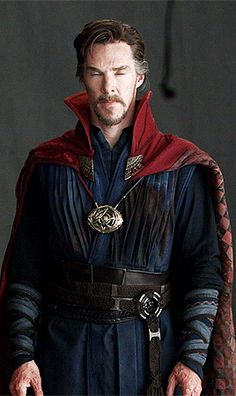 "mishasteaparty: """" Costume fitting for Doctor Strange. "" """