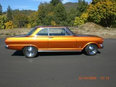 '63 Nova my first car, close to this color. Mine was a SS with a monster 193ci 6 banger.