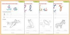 Écriture - Apprendre à écrire Cycle 1 & 2, apprendre à écrire en cursive