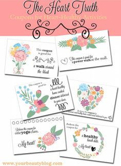 Gifts From The Heart–Free Printable Coupons | Everything Pretty @thehearttruth via www.yourbeautyblog.com #FromTheHeart #ad