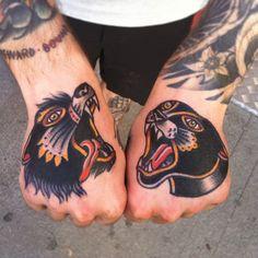 Javi De La Rica as featured on www.swallowsndaggers.com #tattoo #tattoos #handtattoos #handpieces