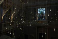 Light Art by Bruce Munro at the Cheekwood Botanical Garden & Museum of Art in Nashville, Tennessee.