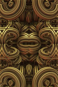 More of my Mandelbulb 3D fractal work.