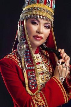 Kazakh woman