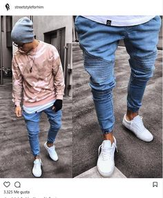 New Sport Homme Boxe 39 Ideas Stylish Mens Outfits, Cool Outfits, Casual Outfits, Men Casual, Tomboy Fashion, Streetwear Fashion, Blue Jean Outfits, Vintage Street Fashion, Masculine Style