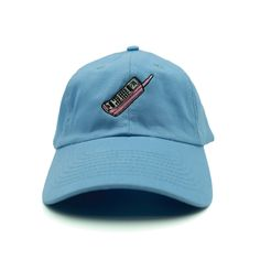 Mobile Phone Dad Hat - Relaxed adjustable hat - Mobile Phone embroidered on the front - 6-panel - Solid colorway - 100% cotton