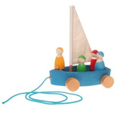 Grimm's Large Land Yacht with 4 Sailors - Wooden Pull Along Sailboat on Wheels with Peg Doll People Figures Grimm's Spiel and Holz Design http://www.amazon.com/dp/B00BLJQD0U/ref=cm_sw_r_pi_dp_7mwnub1QZADBT