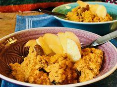 Metabolic Balance | » Teplá mrkvová kaše s mandlemi a slunečnicovými semínky s dušeným jablkem Metabolic Balance, Nutribullet, Turmeric