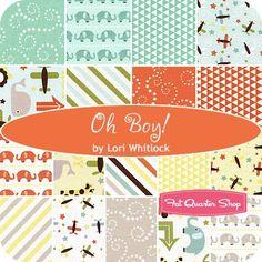Oh Boy! Fat Quarter BundleLori Whitlock for Riley Blake Designs - Fat Quarter Bundles | Fat Quarter Shop