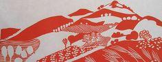 Land of Milk and Honey V, 1988 (linocut) Angela Newberry (detail) /Bridgeman Contemporary Artist