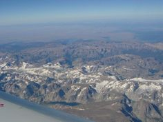 One of the amazing views I've been blessed to see from an airplane