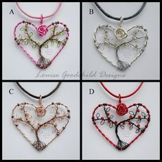 January Newsletter - Hearts, Bracelets and Fairy Doors. //  LOVE THESE!!!  ♥A